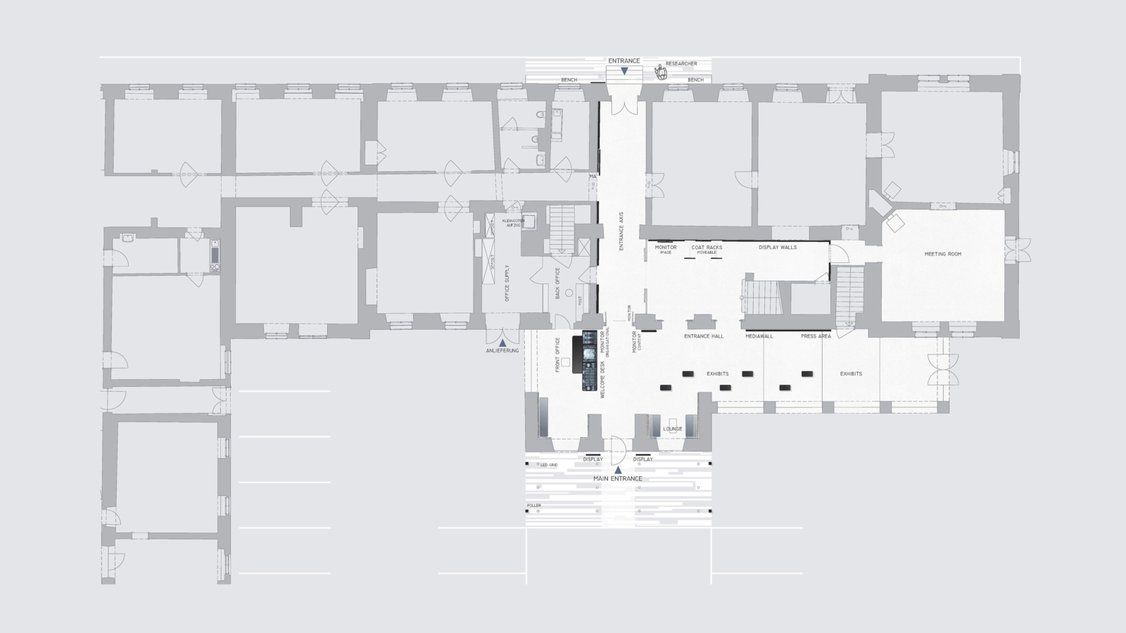 joanneum research infotecture_grundriss
