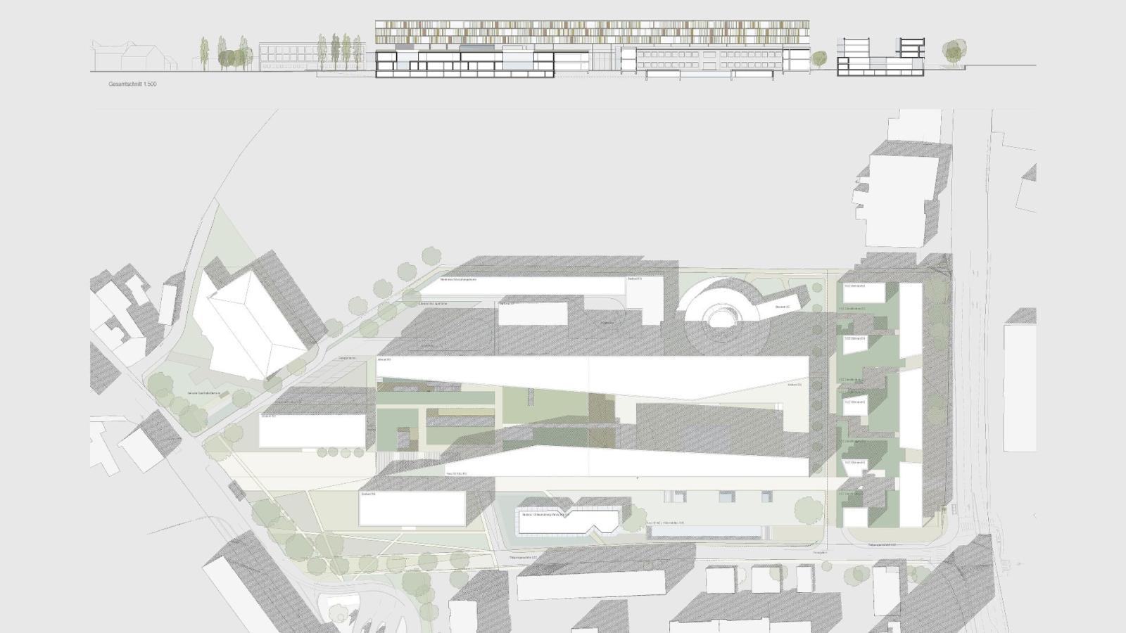 Landesberufschule Graz_Lageplan