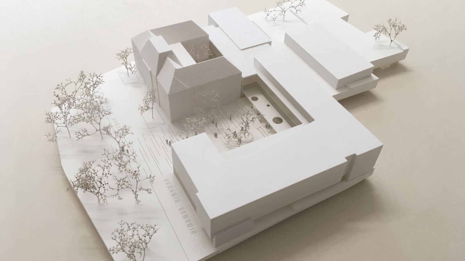 WETTBEWERB Schule der Zukunft Feldbach Modell01