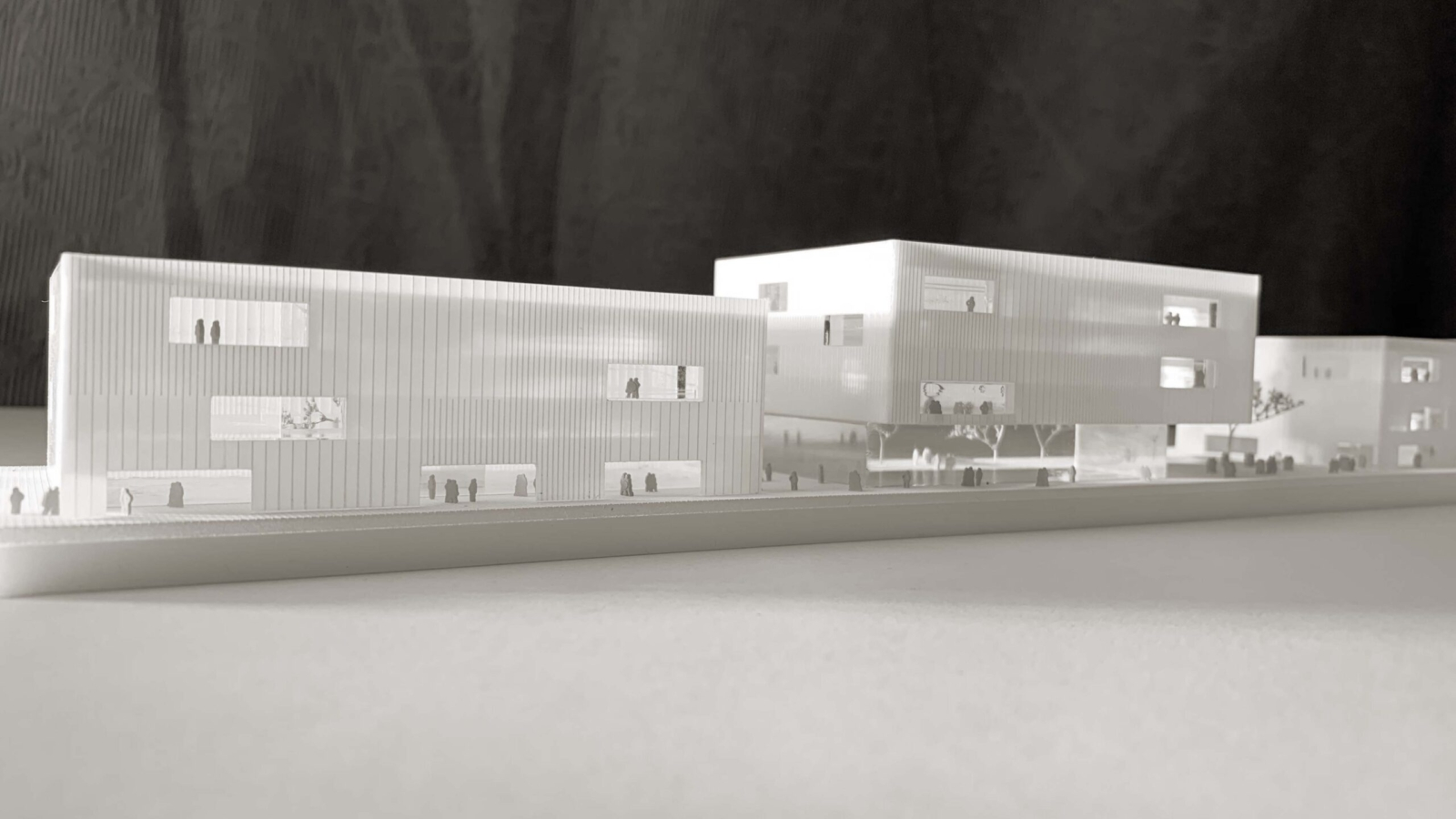 WETTBEWERB JKU Campus_modell1